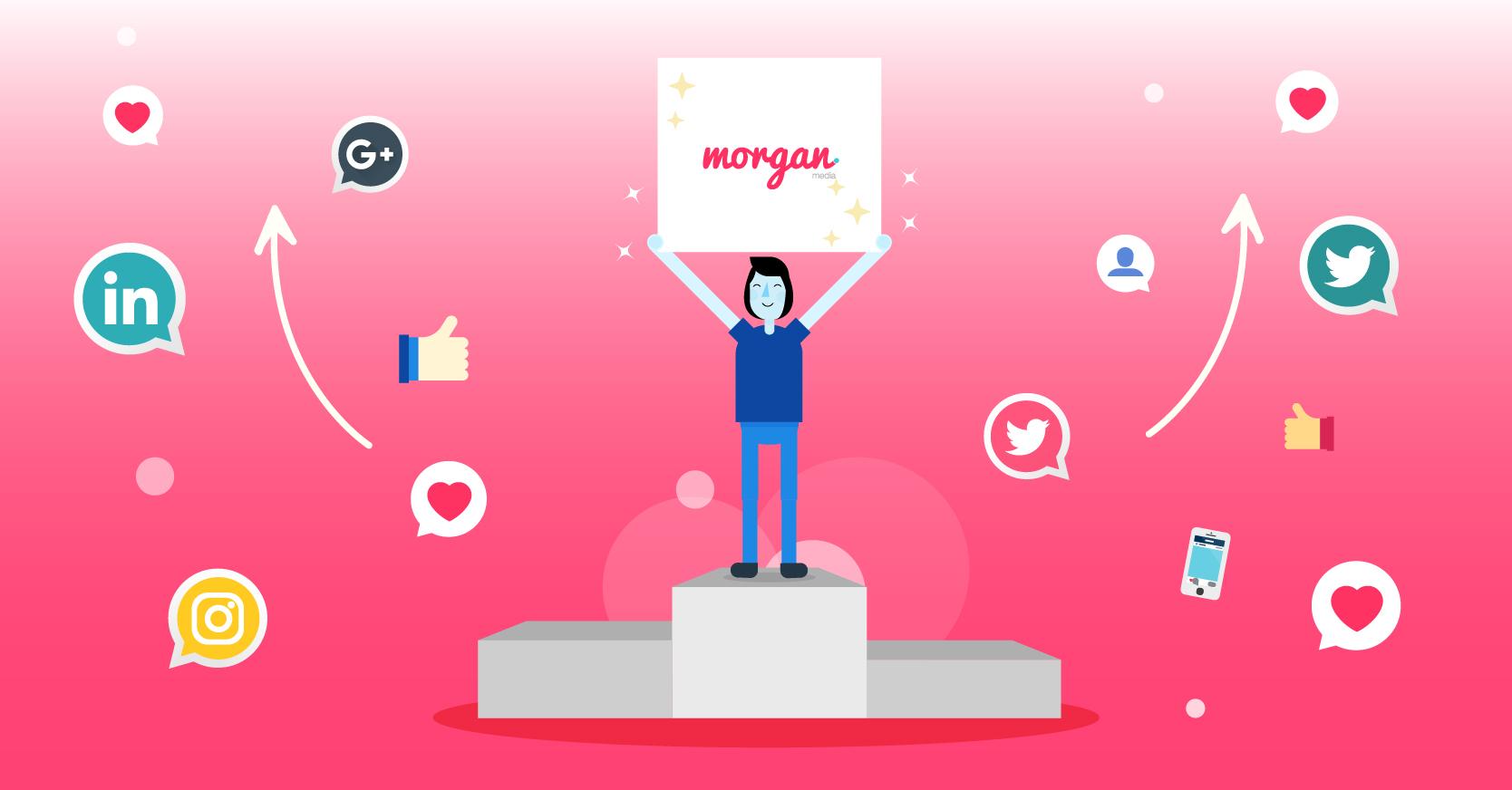 social branding morgan media